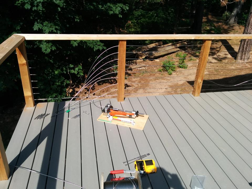 Wire Cable Deck Railings